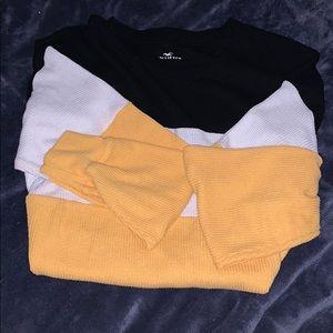Long sleeve stripped shirt
